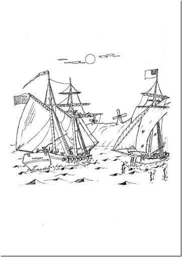 Pinto Dibujos: Día de la marina dibujos para colorear