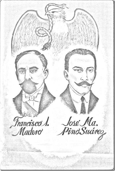 Revolución mexicana – 20 de noviembre para colorear