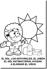 How prevent flu coloring pages