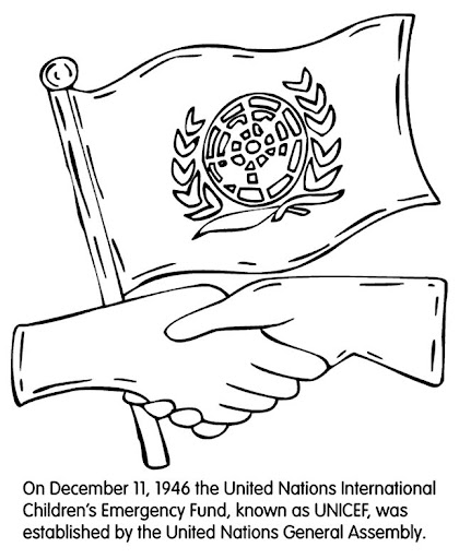 united nations coloring pages