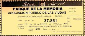 Lotería 2010 Parque de la Memoria