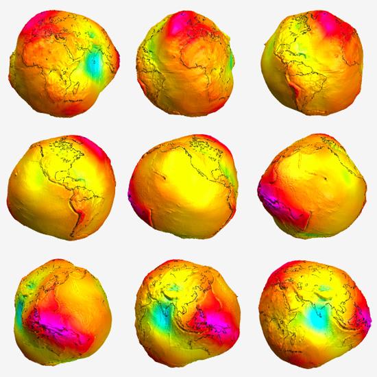 Combined Gravity Field Model EIGEN-CG01C