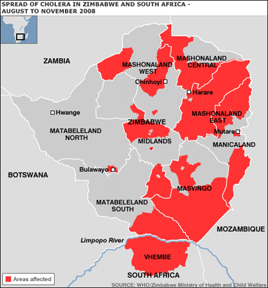 Cholera in Zimbabwe