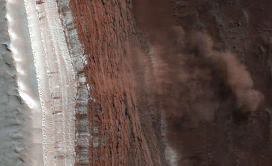 Mars Avalanche