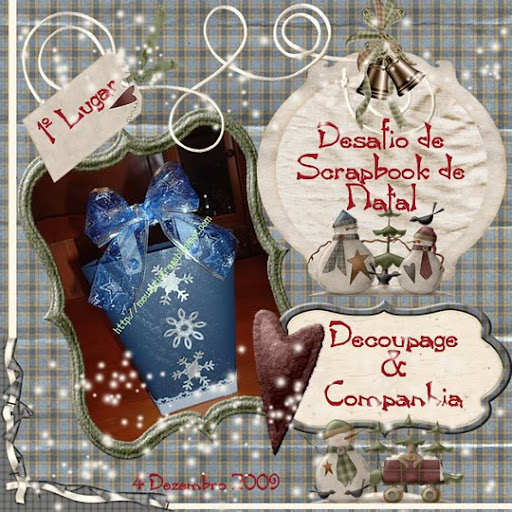 Desafio Scrapbook Natal