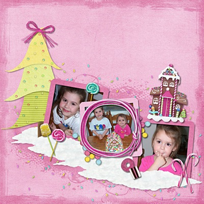 Candy Christmas Girls Web