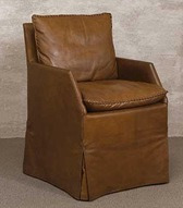 Leather Slipcovers John Saladino