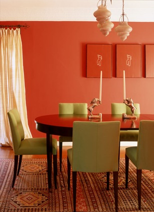 Patricia Gray | Interior Design Blog™: Making Orange Work with ...