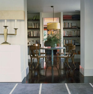 Bookshelves in Dining Rooms Antonia Hutt