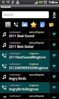 Screenshot of RINGME elegant Ringtone Maker