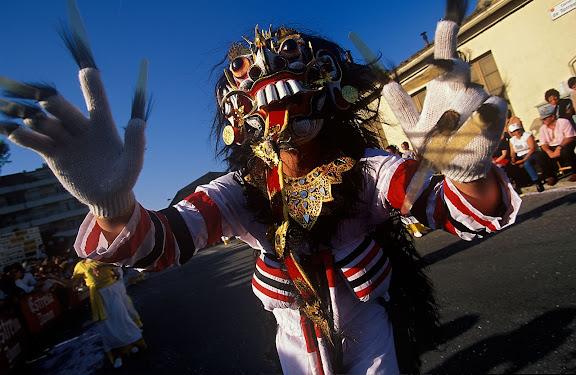 Festa de la Primavera (carnaval passat de dates degut a les prohibicions franquistes).Palafrugell, Baix Empordà, Girona1999