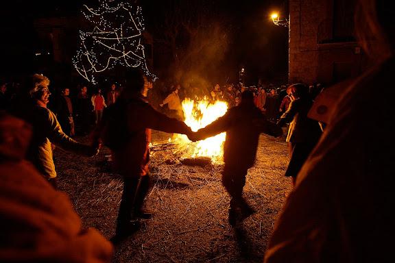 Festa de la Fia faia, nit de NadalSant Julià de Cerdanyola, el Berguedà, Barcelona