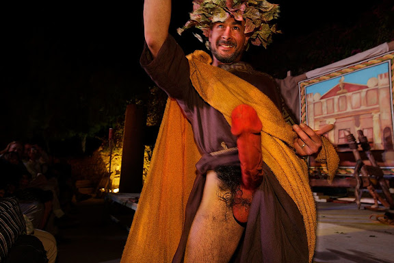 CARMINA PRIAPEA, vesots en honor del déu Príap, aula de teatre URV. Tàrraco Viva, el festival romà de Tarragona. Tarragona, Tarragonès, Tarragona