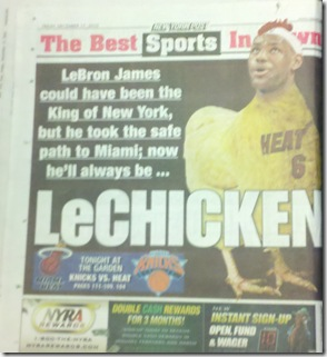 lebron james ny post