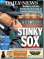 stinky sox daily news back page