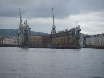 船のドック