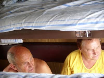 同室の老夫婦