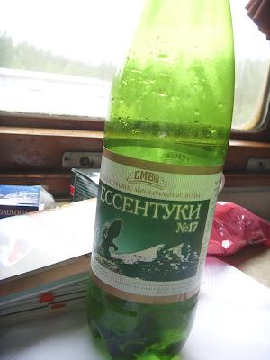 炭酸水のボトル