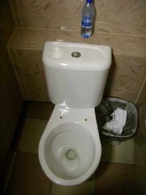 モスクワの公衆トイレ