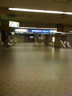 大通バスターミナル地下