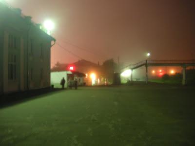 深夜のバニノ駅