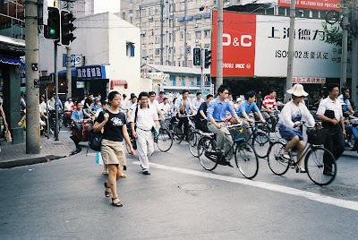 自転車の群れ