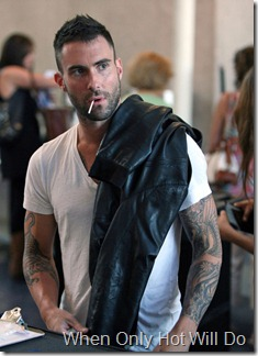 Levine s got a lollipop