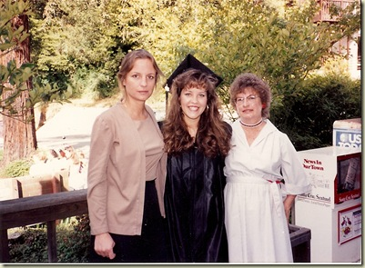 Laura Graduation1992
