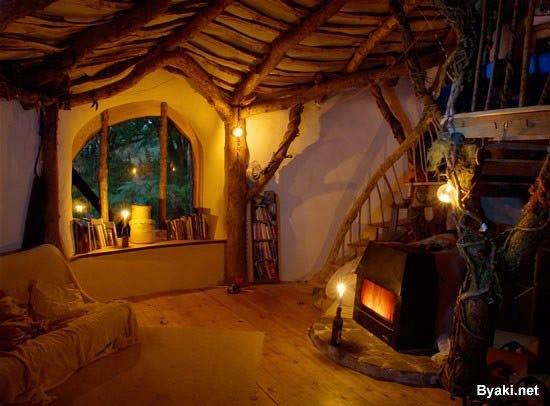 casa replica de hobbit