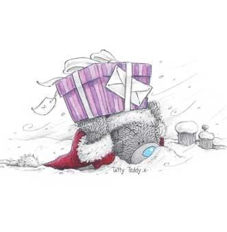 Imágenes osito Teddy en Navidad