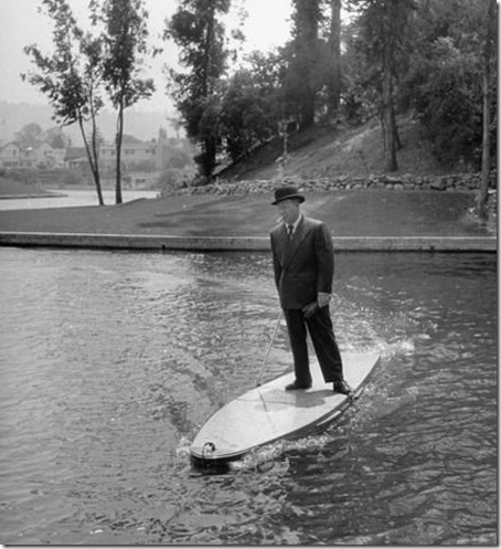 motorizado de la tabla de surf