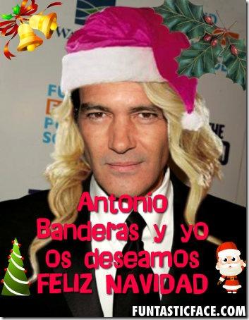 felicitacion navidad con tu foto