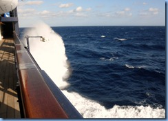 From Outside on Deck 6
