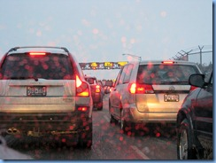 8341 Slow Traffic at Canada Customs ON