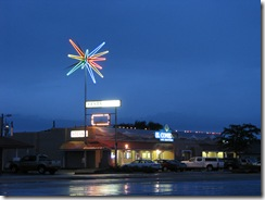 5 Rte 66 Neon Rotosphere - Moriarty NM