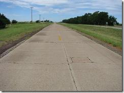 70 Rte 66 Orig 1930 Concrete btwn McLean & Shamrock TX