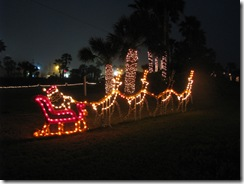 5279 Christmas Lights South Padre Island Texas