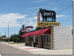 1056 Dudes Steak House Sidney NE
