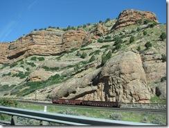 1729 Scenery along I 80 between Castle Rock and Echo UT