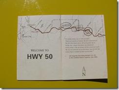 2437 Highway 50 Survival Guide & Passport
