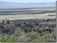 2464 Loneliest Road - Lincoln Highway view from Stokes Castle Austin NV
