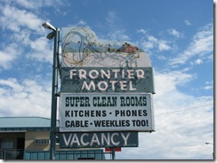 2840 Lincoln Highway Frontier Motel Carson City NV