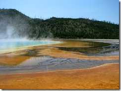 5614 Midway Geyser Basin Excelsior Grand Prismatic Spring Yellowstone National Park