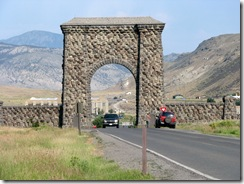 5402 Roosevelt Arch North Entrance Yellowstone Park