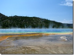 5608 Midway Geyser Basin Excelsior Grand Prismatic Spring Yellowstone National Park