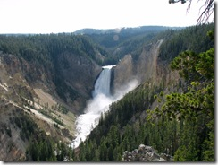 5741 Grand Canyon of Yellowstone Lookout Point Yellowstone National Park