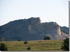 6336 View of Crazy Horse Memorial from US 16 SD