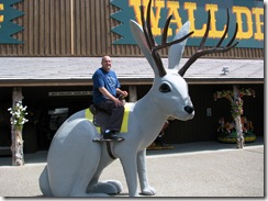 6867  Backyard at Wall Drug Wall SD