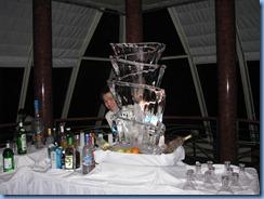 7494 Martini Slide Ice Sculpture Navigator Club Celebrity Mercury