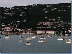 7931 Dusk falls on Charlotte Amalie St Thomas USVI